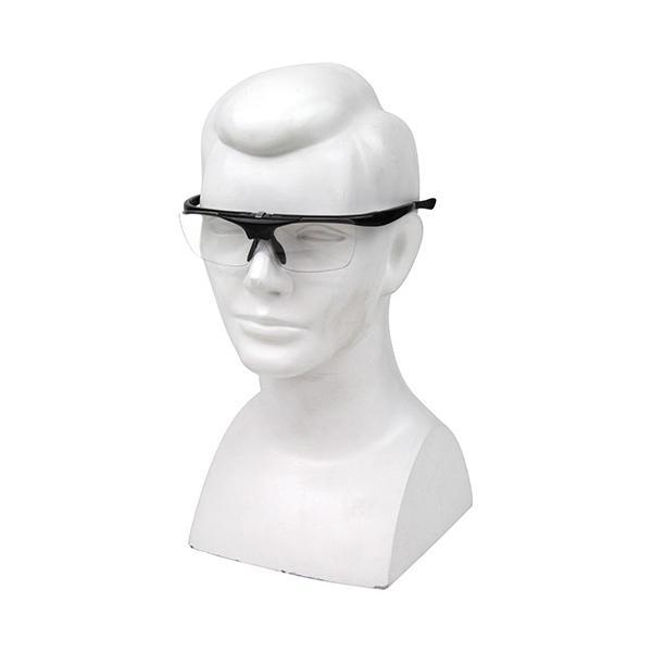 SK11 ハネアゲ式 老眼 保護 メガネ SG-HN30 レンズ度数:3.0 工作 手芸 園芸 DIY 読書 料理 作業 眼鏡 鏡 老人 ホーム 便利 本 細かい