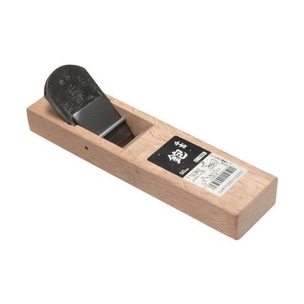 藤原産業 千吉 台付鉋 50MM かんな カンナ 鉋 大工 建築 内装 リフォーム 木材表面 削り 加工 作業 刃研ぎ直し 易い鋼付き 鉋