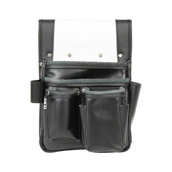 藤原産業 SK11 エバースキンマチ付 釘袋 SEMK-1MSH 腰袋 ツールポーチ ツールバック 設備 職人 建設 釘袋 収納 大工