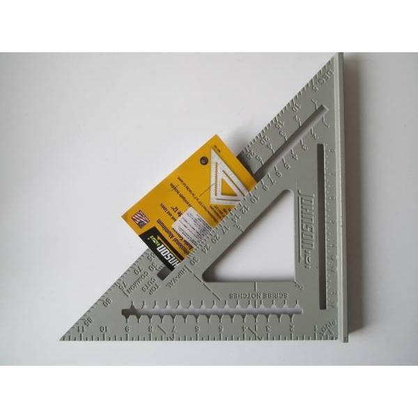 ジョンソン JOHNSON RAS120 アルミ三角定規 12インチ 品番:V727124|iinedougushopping