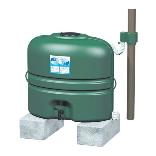 三栄水栓/SANEI【EC2010AS-G-60-110L】雨水タンク(グリーン)