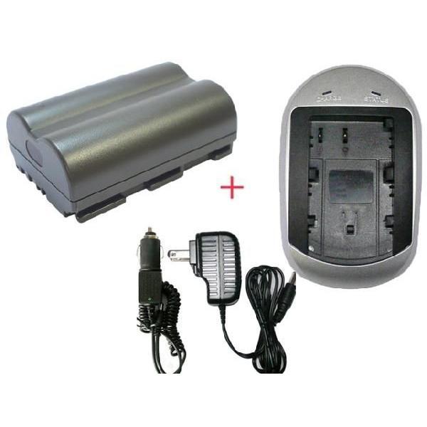 充電器セット キャノン(Canon) BP-511/BP-511A 互換バッテリー-充電器(AC)