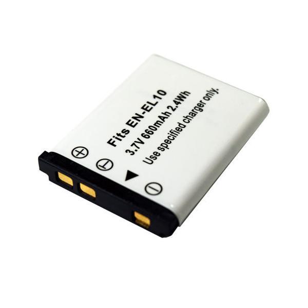 ニコン(NIKON) EN-EL10 互換バッテリー / ペンタックス(PENTAX) D-LI108 / D-LI63