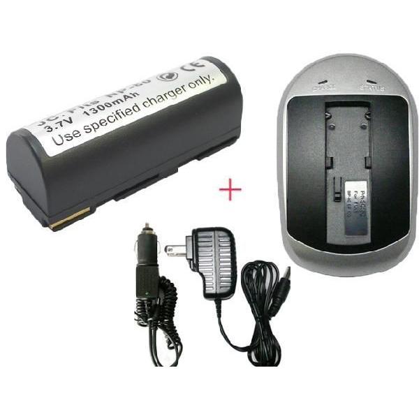 充電器セット フジフィルム(FUJIFILM) NP-80 互換バッテリー +充電器(AC)