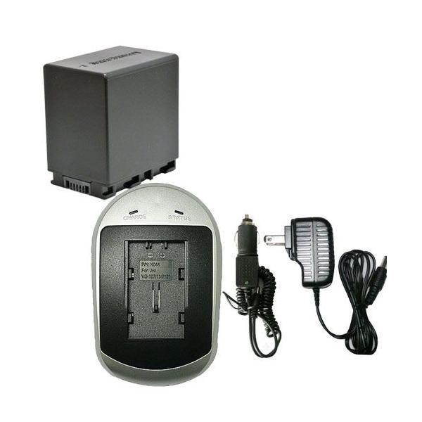 充電器セット ビクター(Victor) BN-VG138 互換バッテリー + 充電器(AC)|iishop2