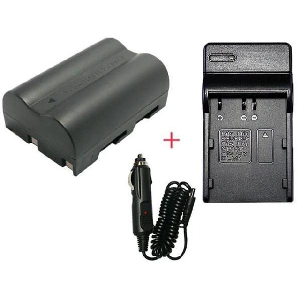 充電器セット コニカミノルタ NP-400 互換バッテリー + 充電器(コンパクトタイプ)