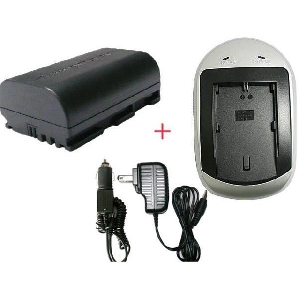 充電器セット キャノン(Canon) LP-E6 互換バッテリー+充電器(AC)