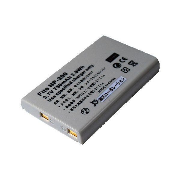 コニカミノルタ(KONICA MINOLTA) NP-200 互換バッテリー
