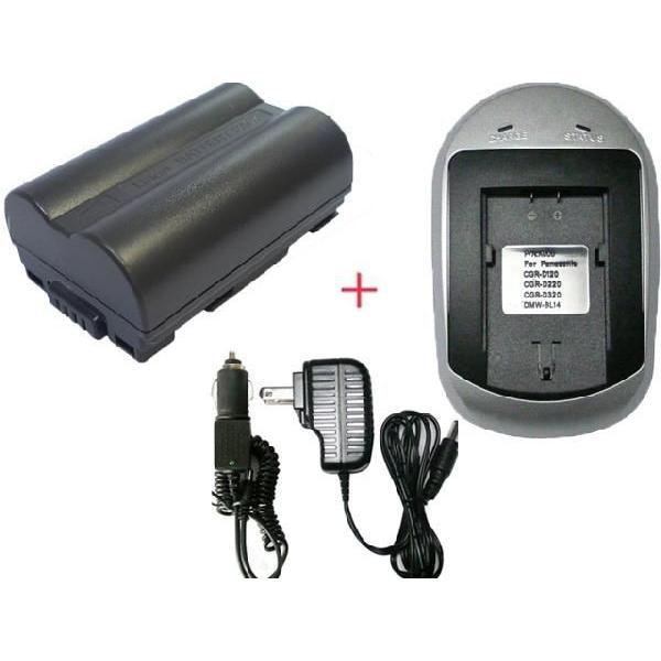 充電器セット パナソニック(Panasonic) DMW-BL14 / ライカ(LEICA) BP-DC1 / BP-DC3E 互換バッテリー +充電器(AC)