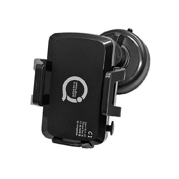 Qi チー規格携帯各種対応 車載型ワイヤレス充電器|iishop2