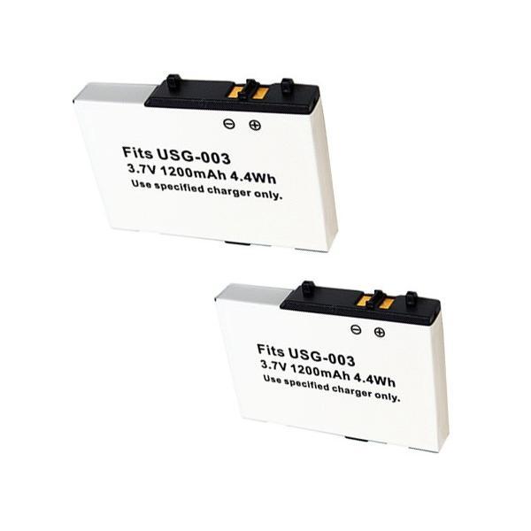 2個セット任天堂(Nintendo)DSlite対応互換バッテリーUSG-003対応