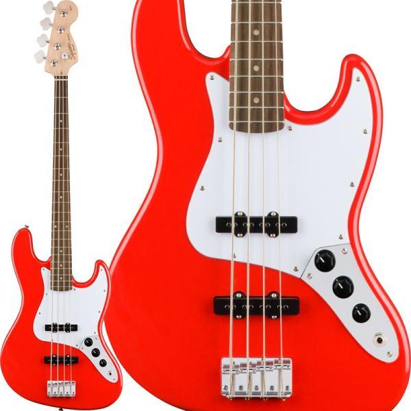 squier by fender affinity series jazz bass race red ol sq af jb rr. Black Bedroom Furniture Sets. Home Design Ideas