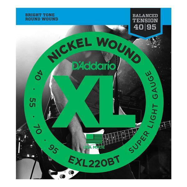 D'Addario ダダリオ / EXL220BT Nickel Wound,Balanced Tension Super Light
