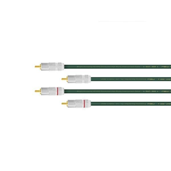 Oyaide QAC-222 RCA pair (RCA-RCA / 2.0m)
