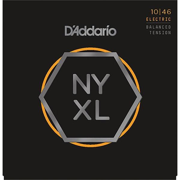 D'Addario ダダリオ / NYXL Series Electric Guitar Strings Balanced Tension (NYXL1046BT Regular Light, 010-046)