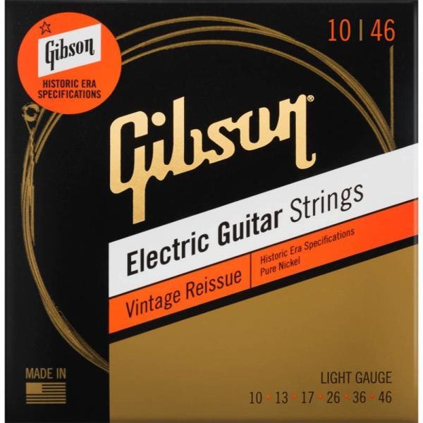 Gibsonギブソン/VintageReissueElectricGuitarStrings(Light)(SEG-HVR10)