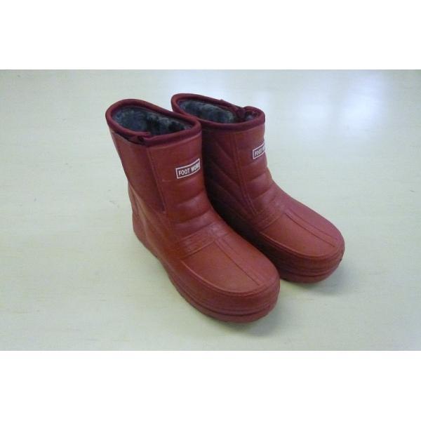 婦人 超軽量防寒ブーツ ワイン S〜Lサイズ