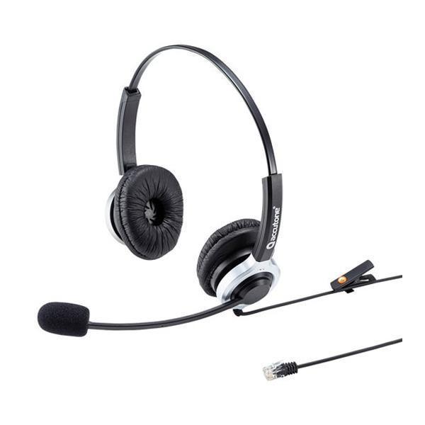 サンワサプライ 電話用ヘッドセット 両耳タイプ 新品 送料無料 記念日 MM-HSRJ01