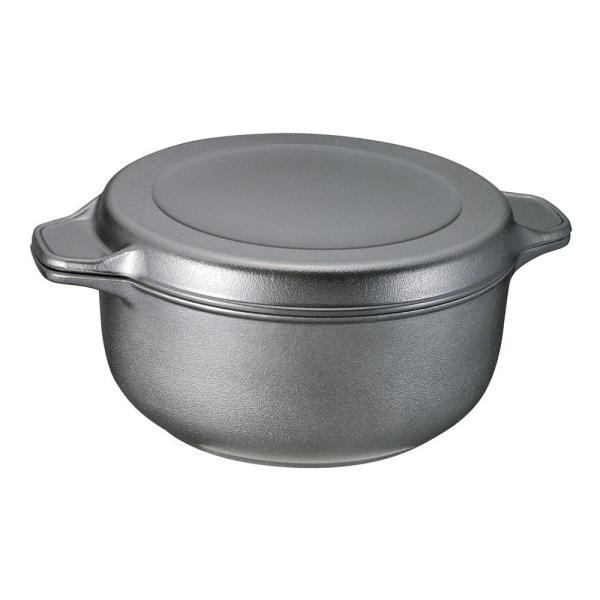 味わい鍋 両手鍋22cm メーカー公式 AZK-22r 6145-087 激安価格と即納で通信販売