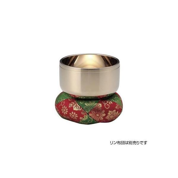 高岡銅器 砂張製仏具 安心の実績 高価 買取 強化中 10%OFF 砂張リン 81-07 3.5寸