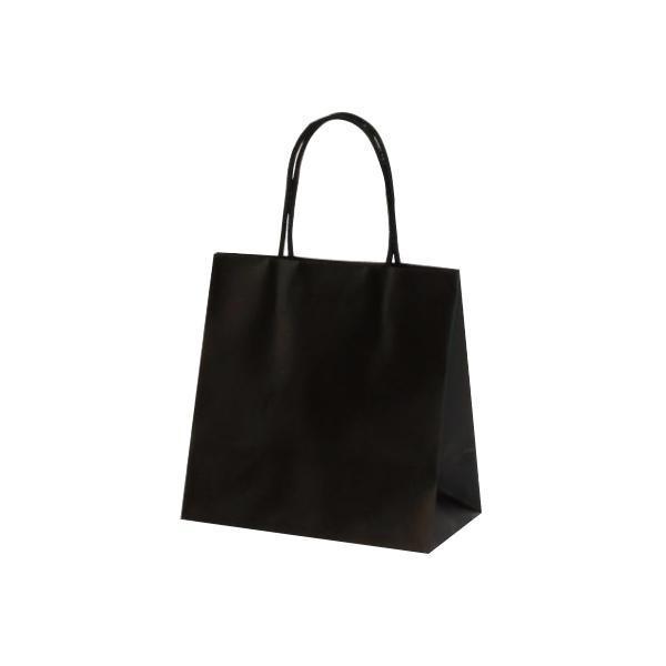 お求めやすく価格改定 割引 マットバッグ SS 手提袋 220×120×220mm ブラック 100枚 1078