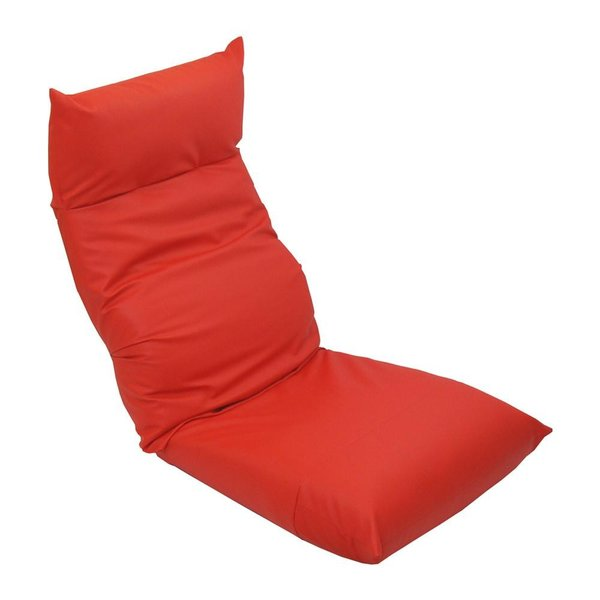 ヘッドリクライニング座椅子 卓出 スワロッサー レザー 代引き不可 店内全品対象 レッド