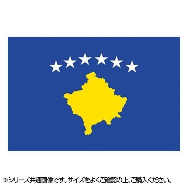 今だけ限定15%OFFクーポン発行中 N国旗 コソボ No.2 23036 早割クーポン W1350×H900mm