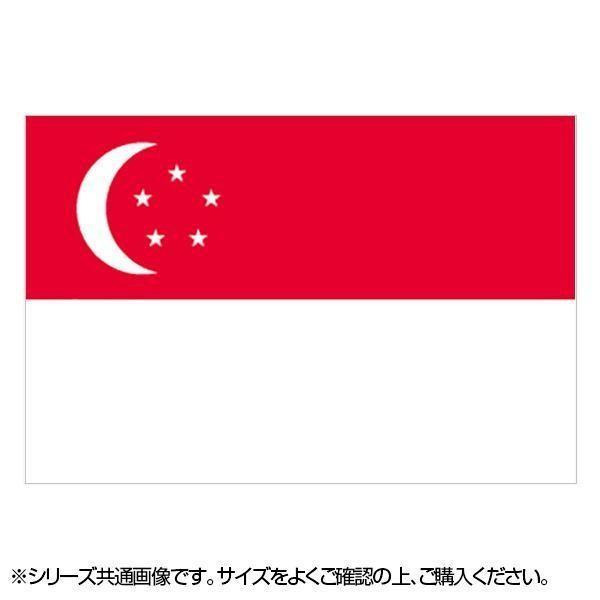 N国旗 シンガポール 在庫一掃 No.2 W1350×H900mm 超激得SALE 23088