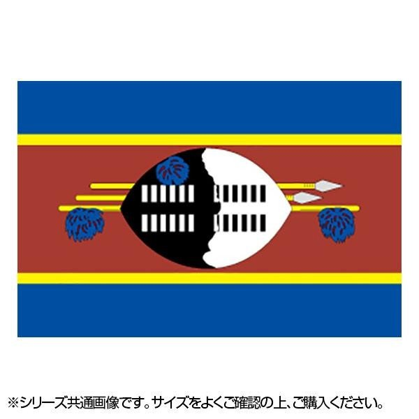 N国旗 25%OFF スワジランド No.2 W1350×H900mm 23140 男女兼用