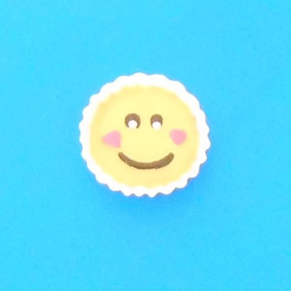 スマイル カップケーキ デコパーツ スイーツ 雑貨 小物 ハンドメイド 手芸 b-dp22