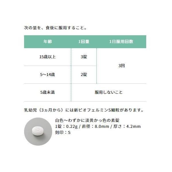 新ビオフェルミンS錠 540錠 ビオフェルミン製薬 大正製薬 ikesma 08