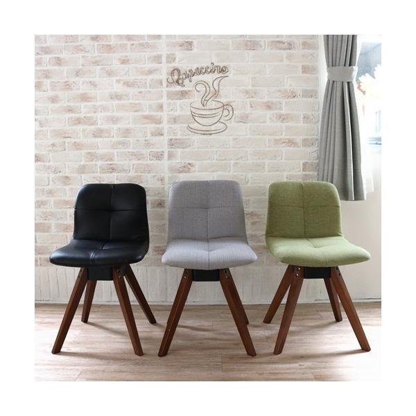 ダイニングテーブルセット 4点 三角形 3人用 回転椅子 アンティーク風 北欧風 カフェ風|ikikagu|04