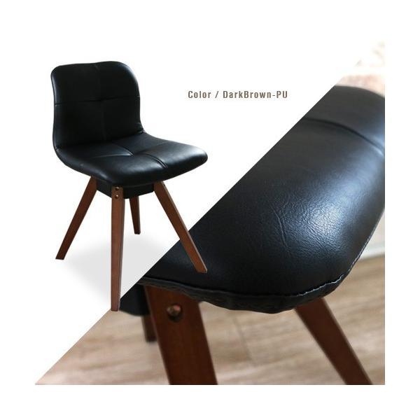 ダイニングテーブルセット 4点 三角形 3人用 回転椅子 アンティーク風 北欧風 カフェ風|ikikagu|05