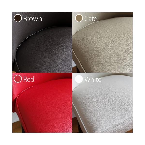 ダイニングテーブルセット 5点セット 丸テーブル ホワイト パラダイス|ikikagu|06