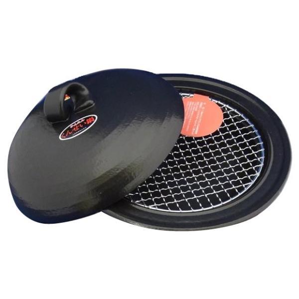 送料無料 万古(ばんこ)焼 卓上簡単燻製鍋