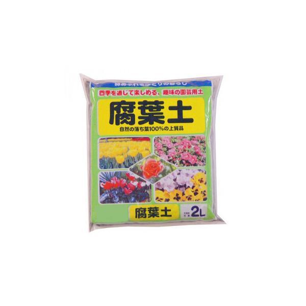 送料無料 あかぎ園芸 腐葉土 2L 20袋[代引き不可]