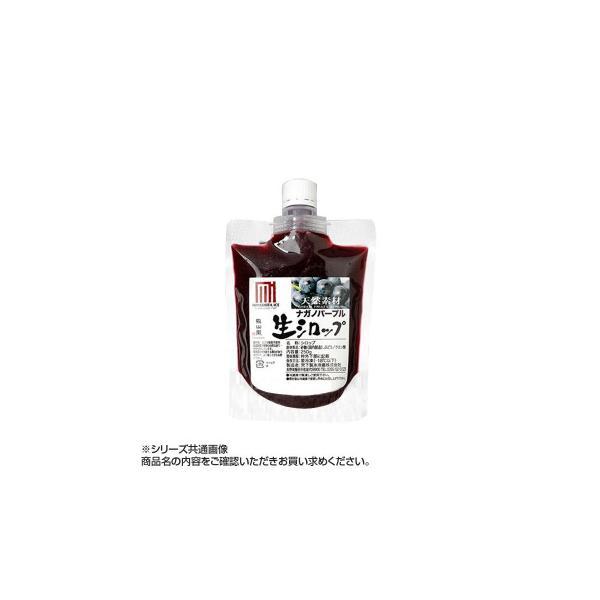 送料無料 かき氷生シロップ ナガノパープル 250g 3パックセット[代引き不可]