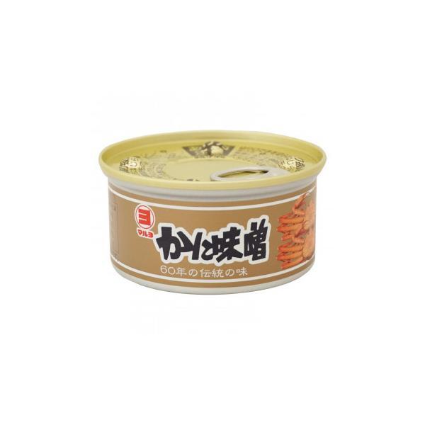送料無料 マルヨ食品 かに味噌缶詰 100g×48個 01001[代引き不可]