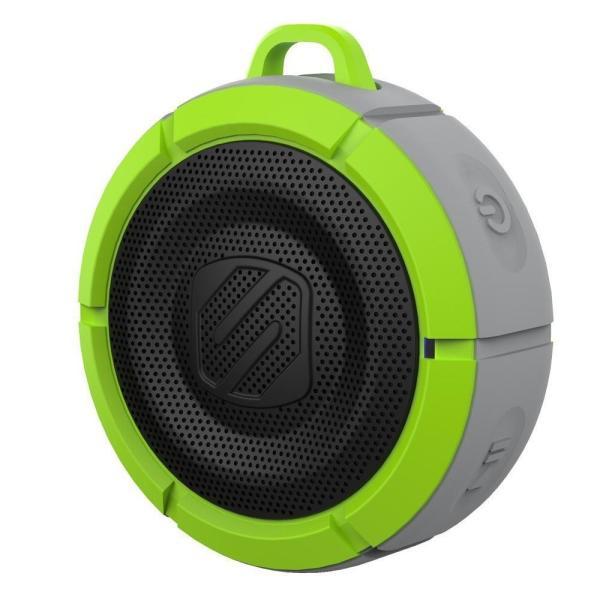 送料無料 SCOSCHE BoomBuoy 水に浮く Bluetoothワイヤレススピーカー グリーン/グレー