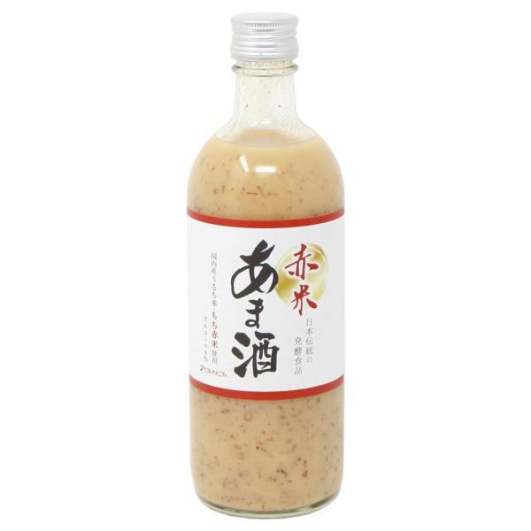 送料無料 甘酒シリーズ 赤米あま酒 525g×12入 I10-143[代引き不可]