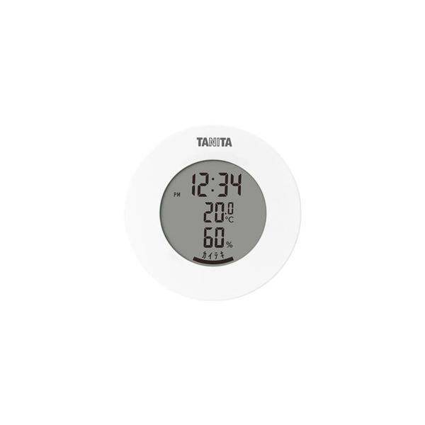送料無料 TANITA タニタ デジタル温湿度計 TT-585WH