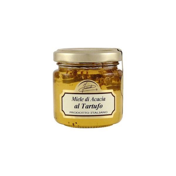 送料無料 イタリア INAUDI社 イナウディ 白トリュフ入り蜂蜜 120g T3[代引き不可]