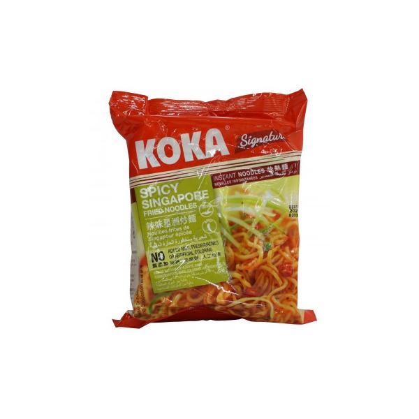 送料無料 コカ インスタント麺 スパイシーシンガポール風焼きそば 85g 30袋セット 253