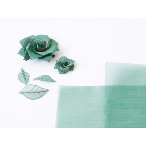 おりあみStainless steel Green(ステンレスグリーン)15cm×15cm(3枚入り) ikk-oriami 02