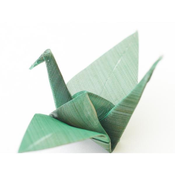 おりあみStainless steel Green(ステンレスグリーン)15cm×15cm(3枚入り) ikk-oriami 03