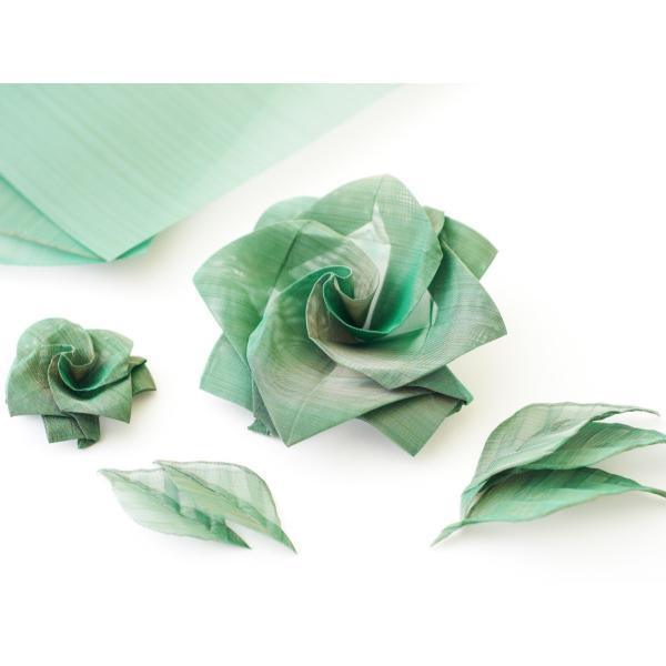 おりあみStainless steel Green(ステンレスグリーン)15cm×15cm(3枚入り) ikk-oriami 04