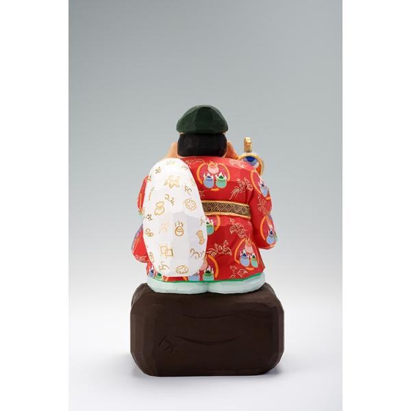 大黒様/奈良一刀彫/桧/木彫人形/大黒天|ikkisya|04