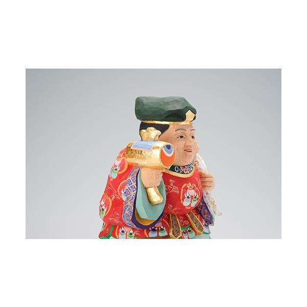 大黒様/奈良一刀彫/桧/木彫人形/大黒天|ikkisya|08