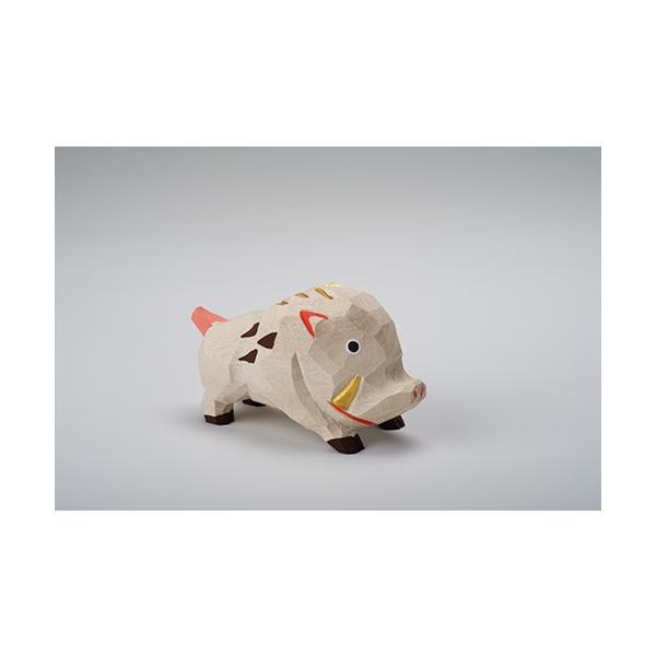 干支置物「亥」(いのしし)大サイズ/奈良一刀彫/楠/人形/猪/イノシシ/いのしし/亥|ikkisya|03