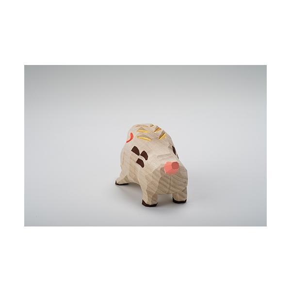 干支置物「亥」(いのしし)大サイズ/奈良一刀彫/楠/人形/猪/イノシシ/いのしし/亥|ikkisya|04